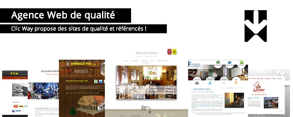 Agence Web de qualité Créateur de site internet en Alsace, Clic Way propose des sites de qualités et référencés !